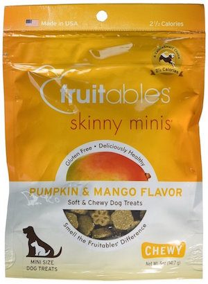 Fruit chews for dogs